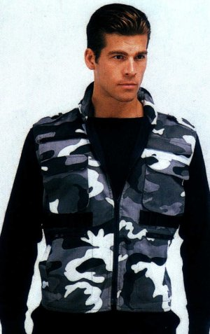 City Camo Ultra Force Ranger Vest
