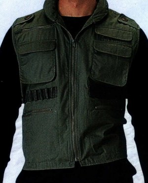 OD Green Ultra Force Ranger Vest